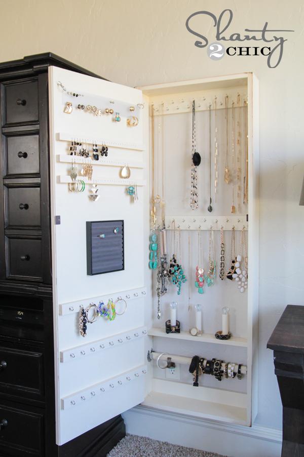 DIY Jewelry Organizer!! - Shanty 2 Chic
