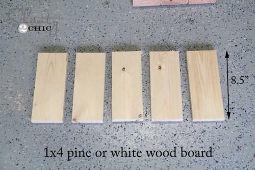 wood for diy wine rack
