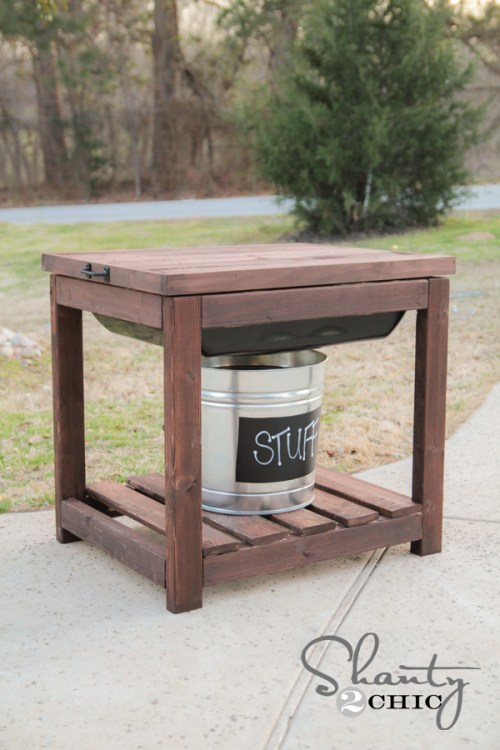 DIY Sandbox Table