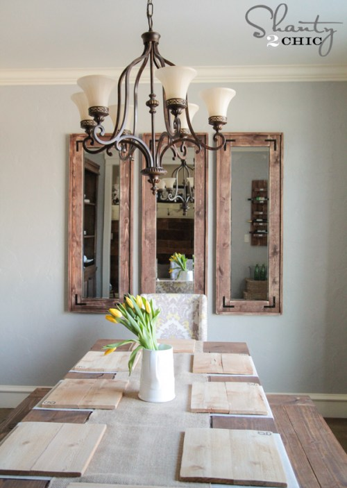 Diy Full Length Mirror Shanty 2 Chic