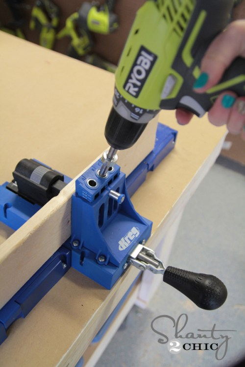 How to plank wood with a Kreg Jig