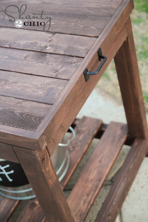 Sandbox Table DIY