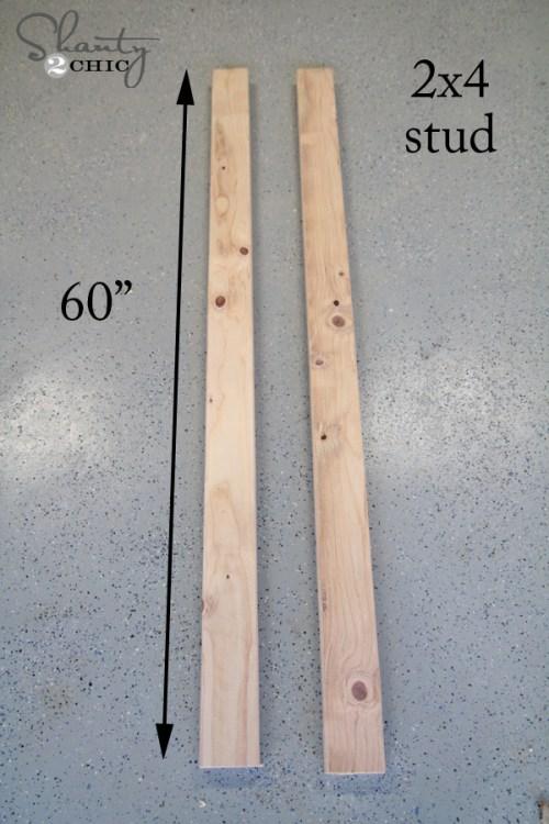 wood for blanket ladder