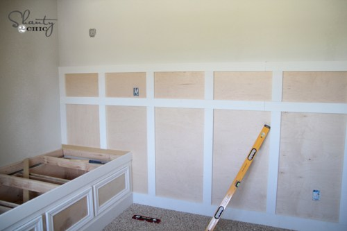 DIY Board and Batten Wall Turorial
