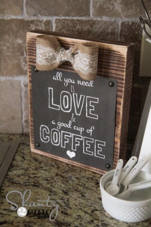 Free Printable Love and Coffee