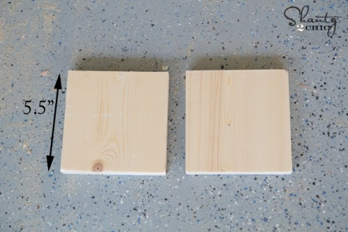 Side pieces for floating shelf