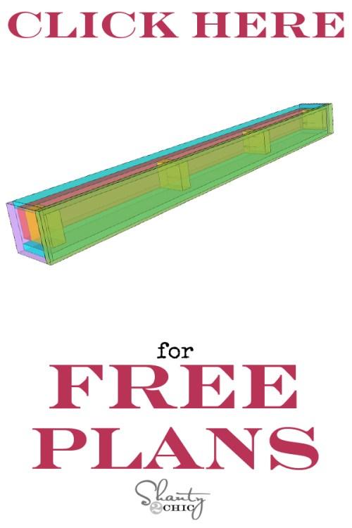 print plans floating mantle