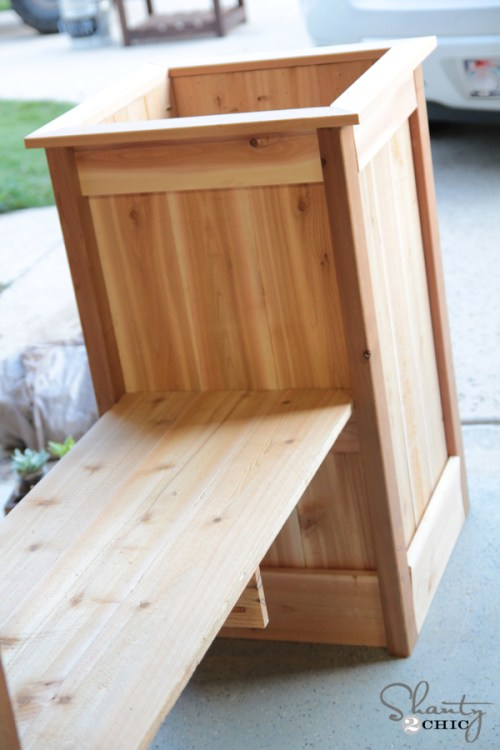 How to build a Planter Box bench
