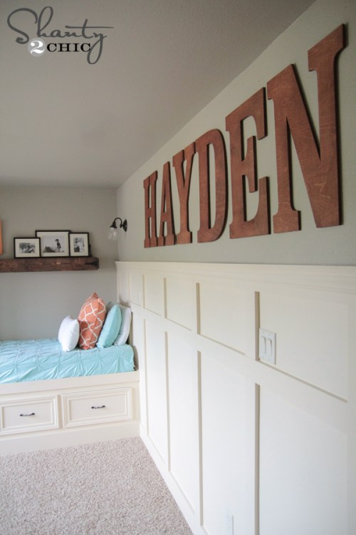 Wood Wall Letters