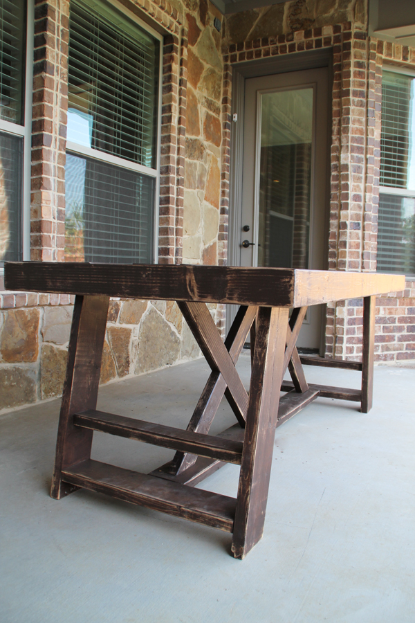 double-x-table