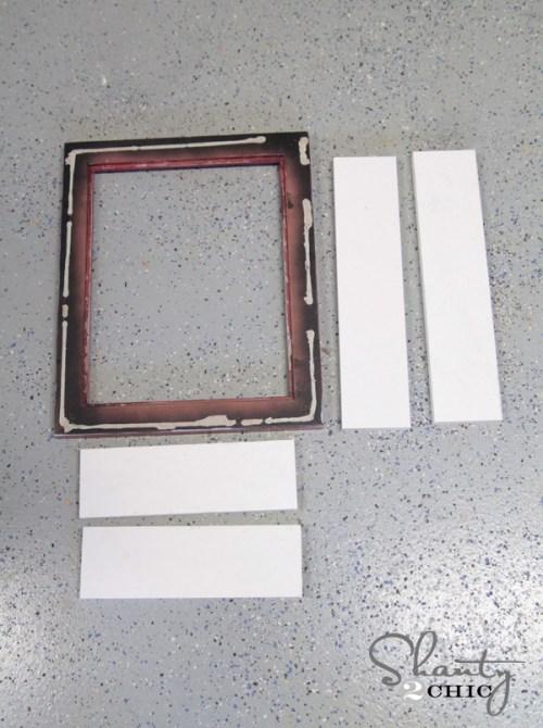 Building a frame shelf