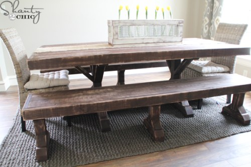 DIY-Dining-Table-and-Benches