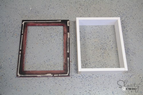 Frame for Shadowbox Shelf