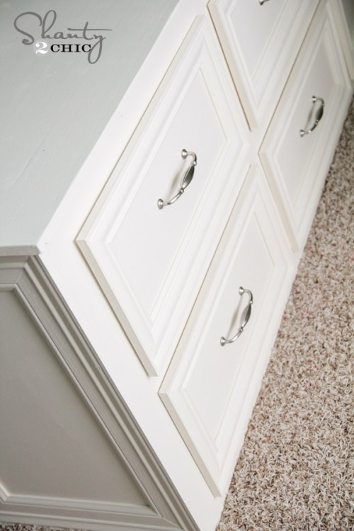 Dresser Bed Drawers