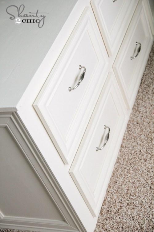 Dresser Bed Drawers