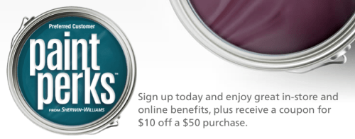 Paint Perks by Sherwin Williams