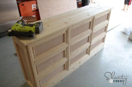 Building a laundry dresser