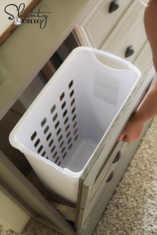 Laundry Sorter Dresser
