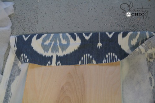 Reupholster a bench