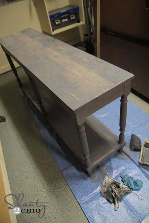 Weathered Gray Stain by Varathane