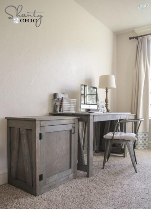 Free Woodworking Plans - Desk System