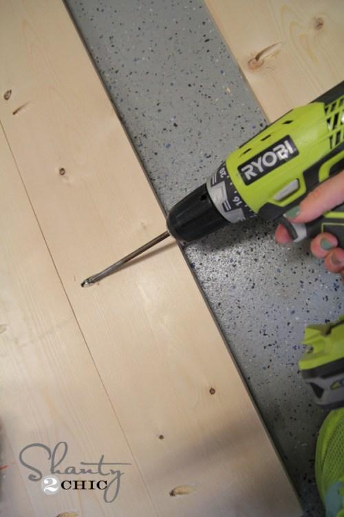 Plank wood using Kreg Jig