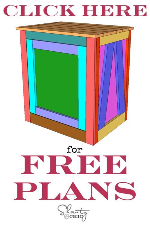 Print Free Plans - DIY Nightstand