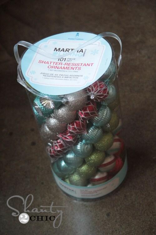 Mrtha Stewart Ornaments