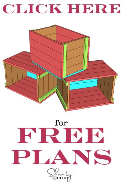 Print Free Plans Christmas Tree Crate