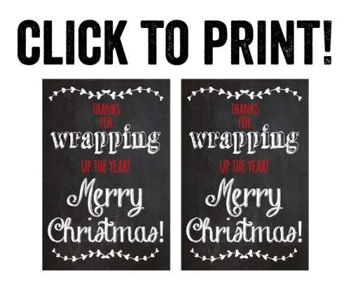 Print Teacher Gift Printable