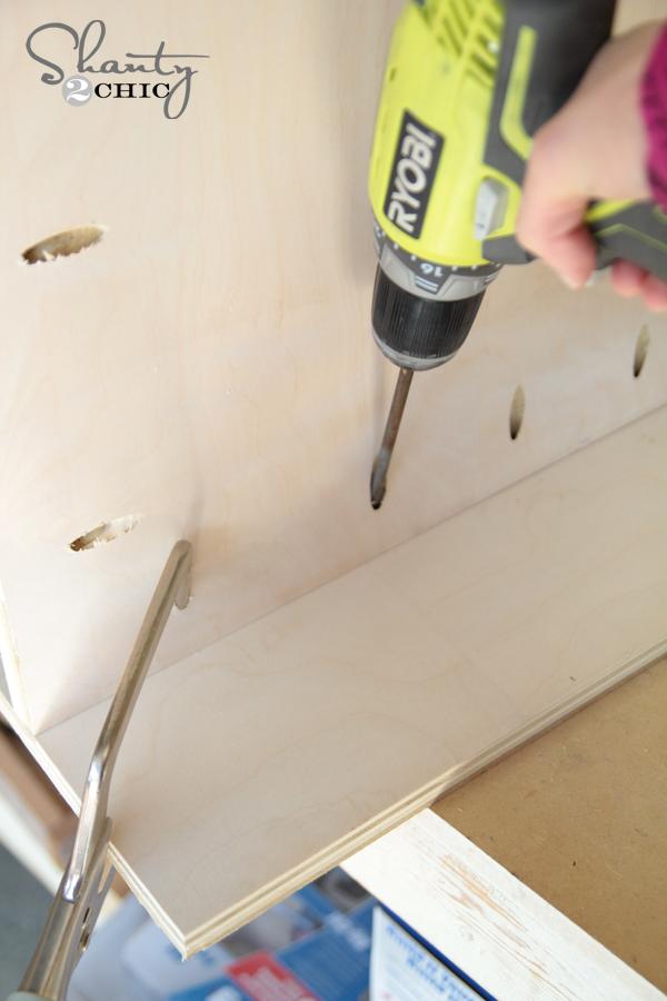 Build nightstands pocket holes