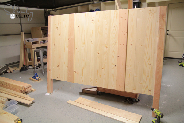Builidng the headboard