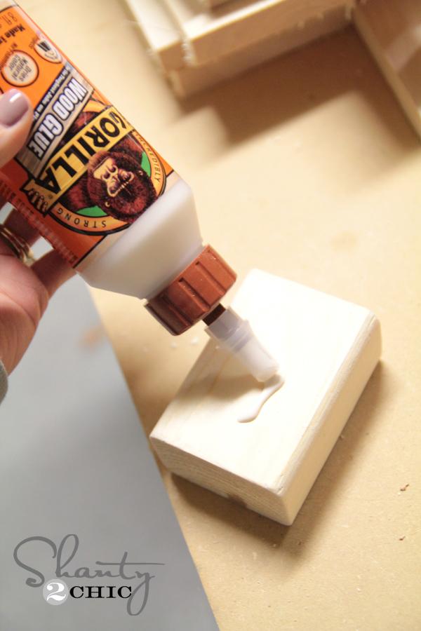 Gorilla Wood Glue for bench leg
