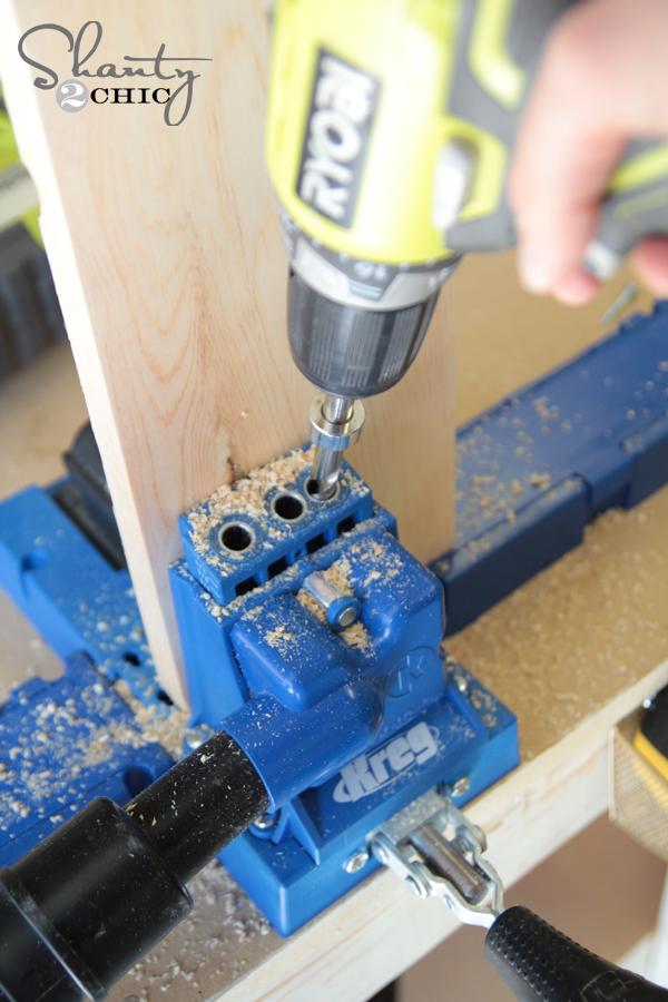 pocket holes on plywood