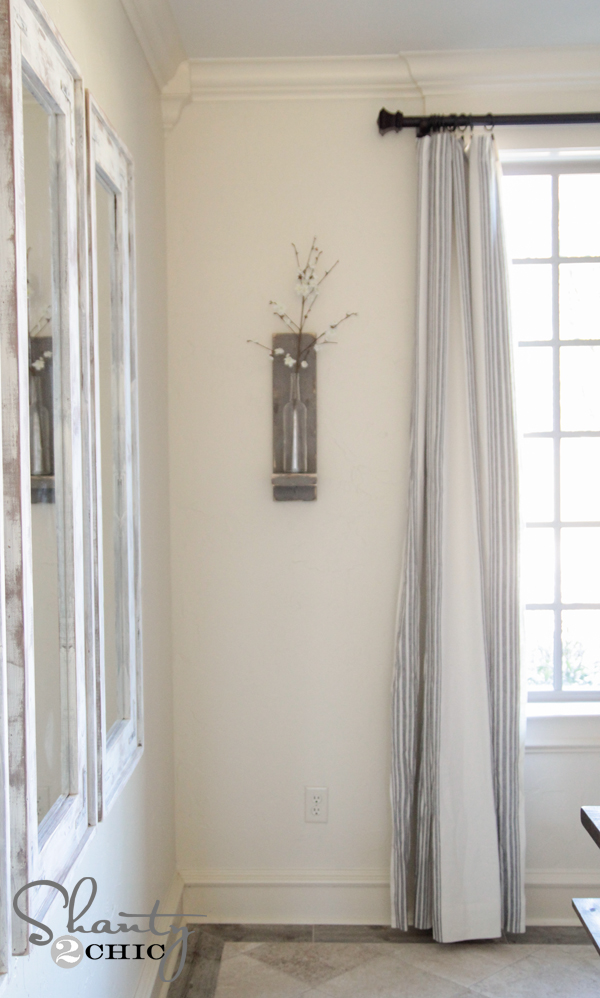 Dining Room Wine Bottle Wall Sconce
