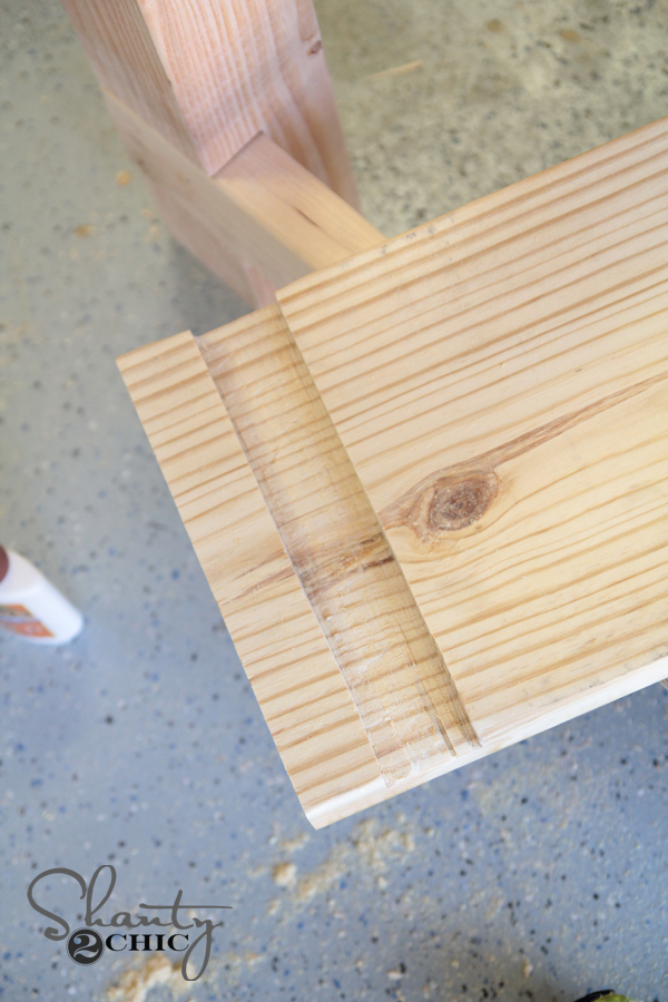 Create notch on wood using Jig Saw
