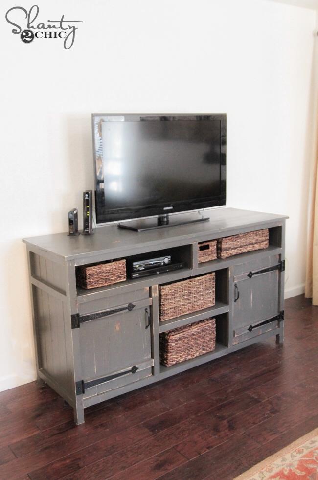 DIY Media Console by Shanty2Chic