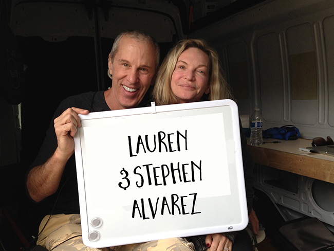Lauren and Stephen