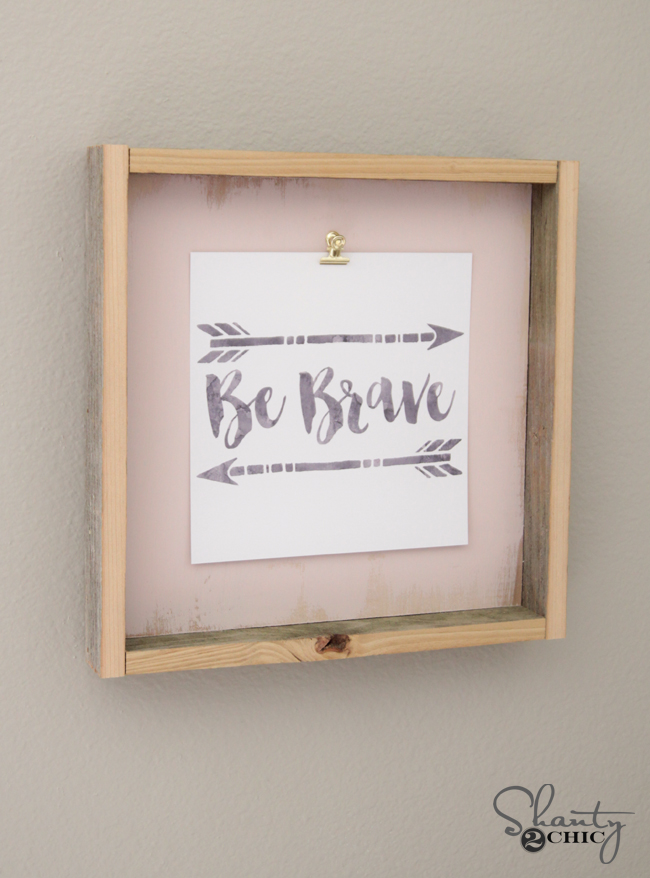 DIY Frame Tutorial and Free Printable