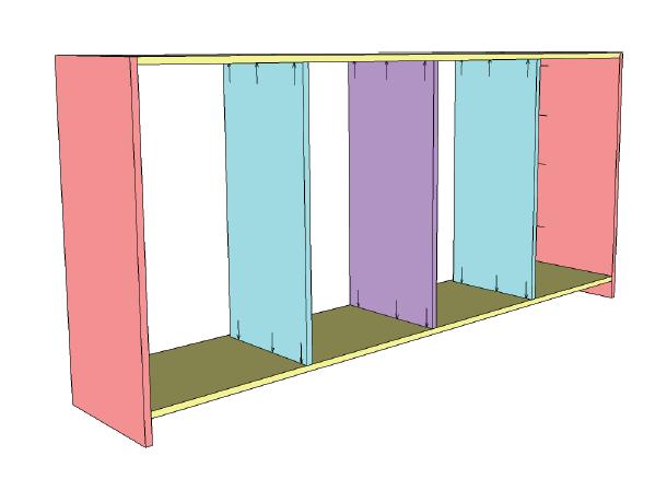 Locker System Dividers