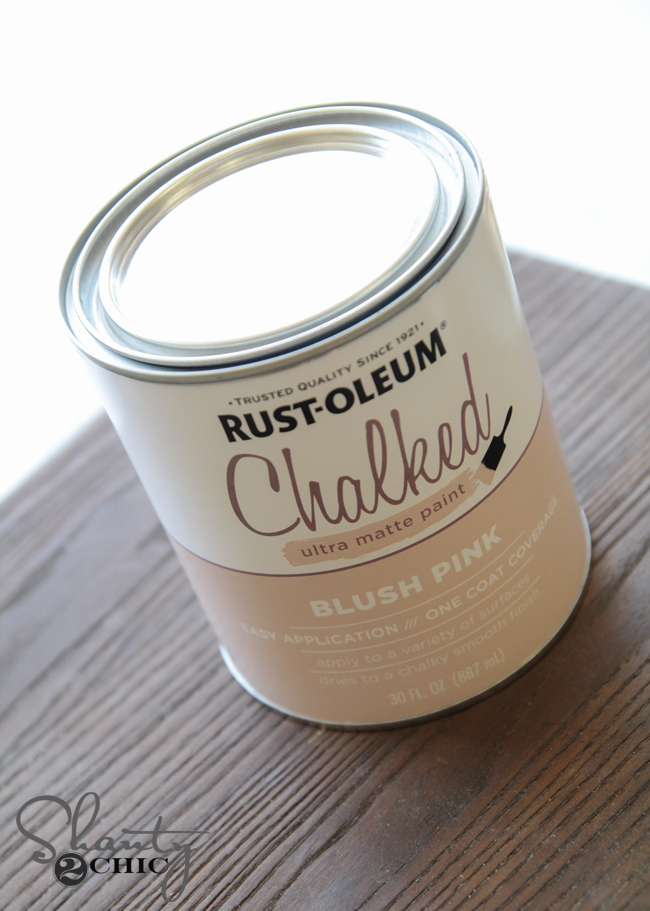 Rustoleum Chalked Paint
