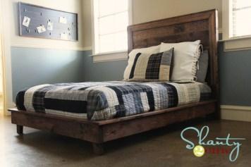 DIY Full Platform Bed