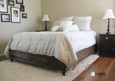 DIY Queen Platform Bed