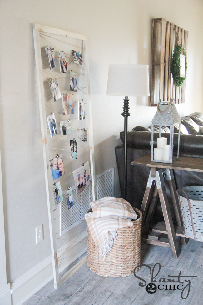 DIY Photo Display by Shanty2Chic