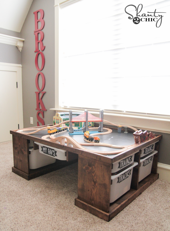 DIY Train Table by Shanty2Chic