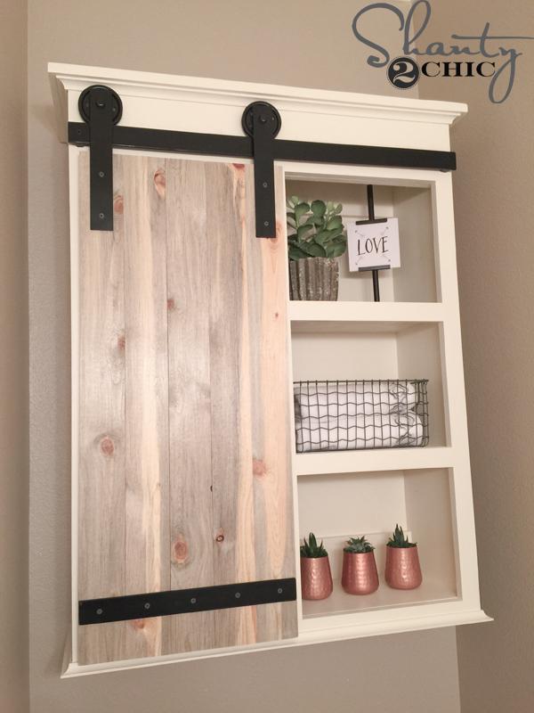 DIY-Bathroom-Storage-Cabinet-with-Barn-Door