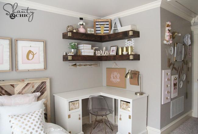 Free Plans Corner Desk