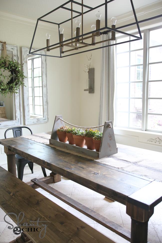 DIY Dining Room Centerpiece