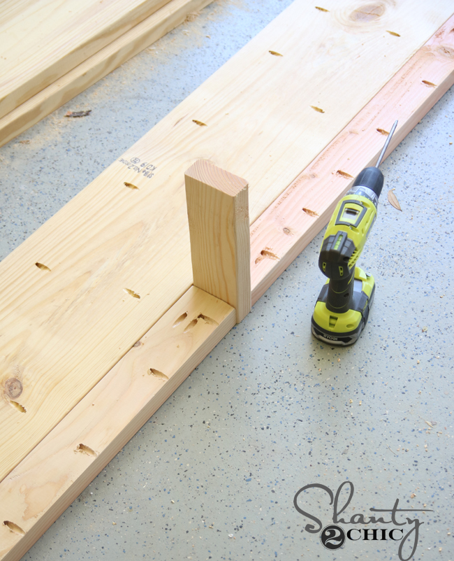 spacer using 2x4
