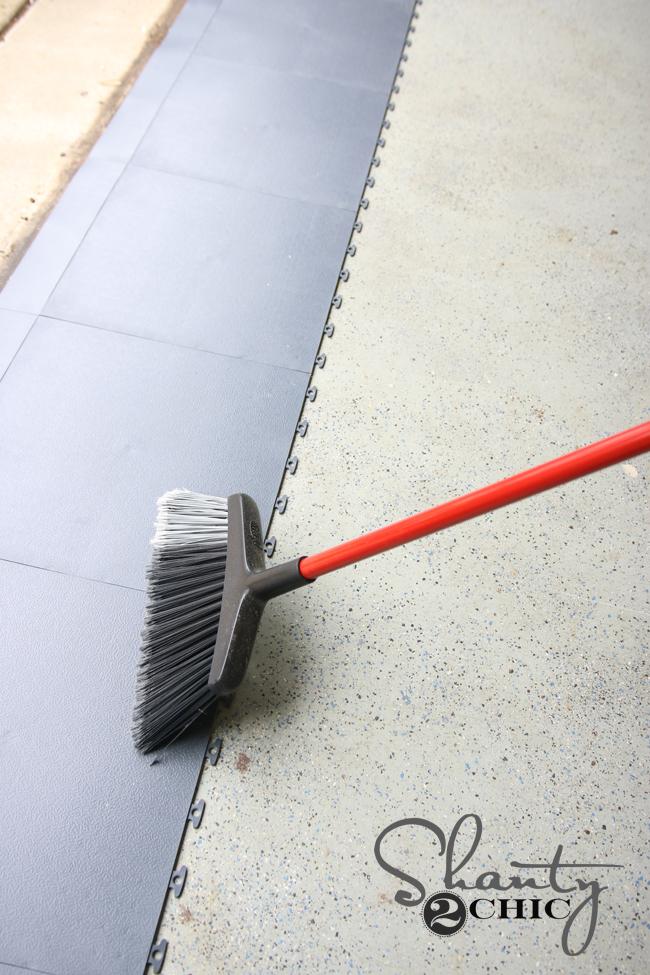 Garage Floor Tile How To